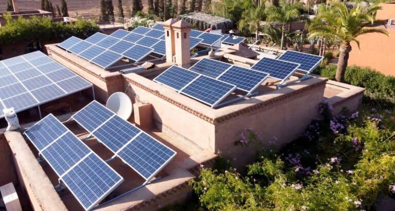 Energie solaire à Marrakech: une solution pour diminuer les charges des hôteliers