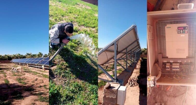 Mise en oeuvre d'un programme national du pompage solaire au Maroc