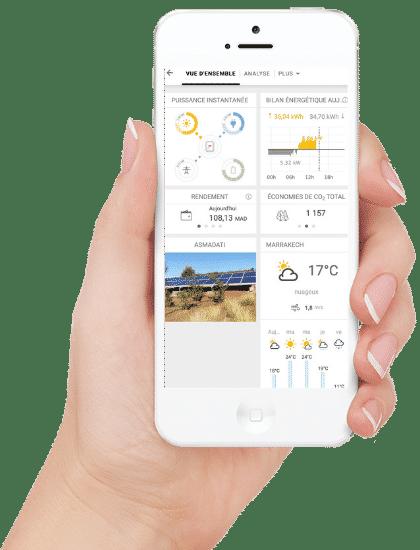 Application Solarweb