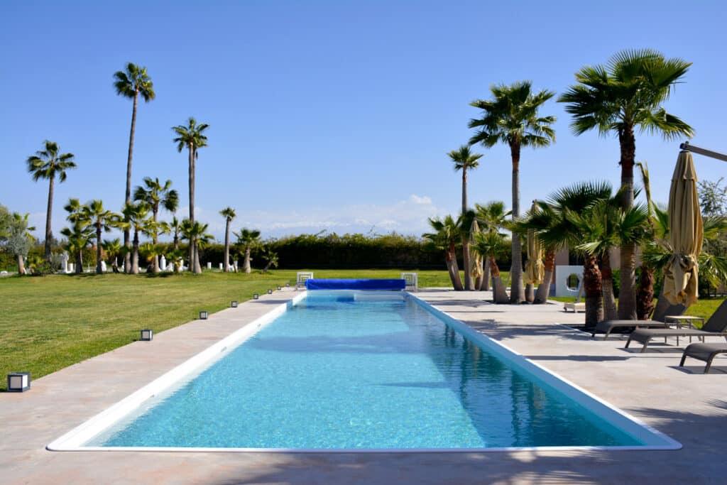Installation photovoltaïques aux Olivades, villa d'art et d'évènementiel à Marrakech
