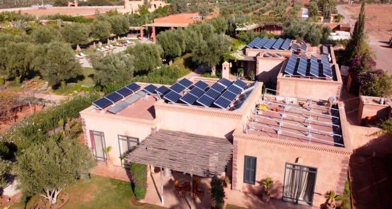 Energie solaire et hôtel à Marrakech: quelle installation choisir?