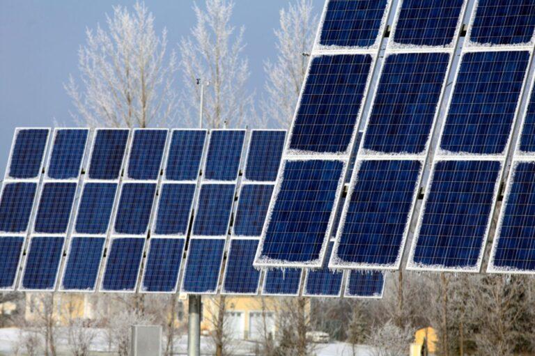 Performance des panneaux solaires en hiver